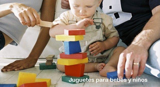 Juguetes para bebés y niños