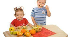 Las frutas y los niños