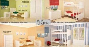 El Corral, cunas, muebles infantiles