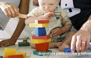 Juguetes para estimular a tu bebé