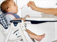 sillitas de comer para bebes