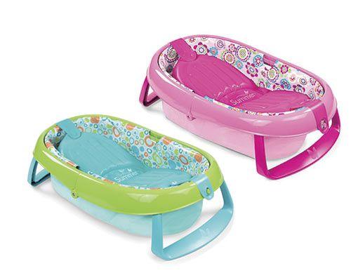 summer bañera plegable